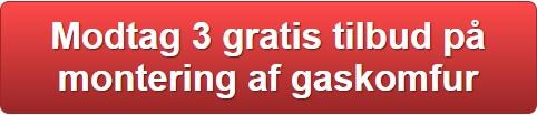 Montering af gaskomfur pris